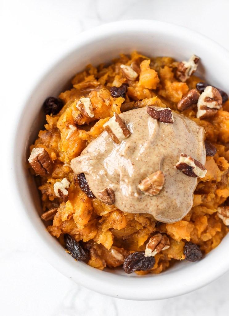 Sweet Potato For Breakfast Healthy  Sweet Potato Breakfast Bowl Healthy Liv