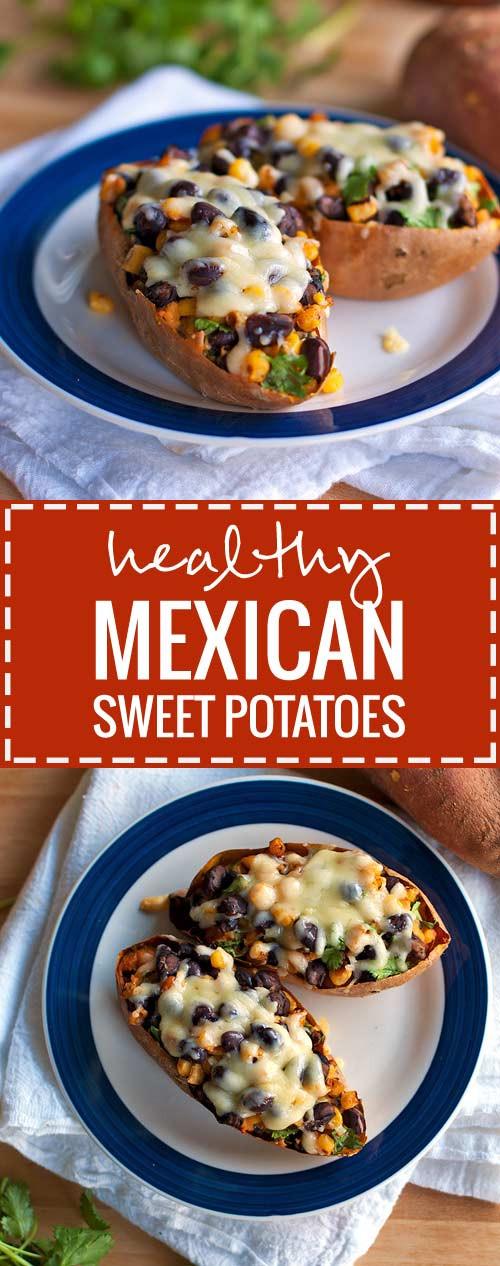 Sweet Potato Recipe Healthy  healthy twice baked sweet potatoes