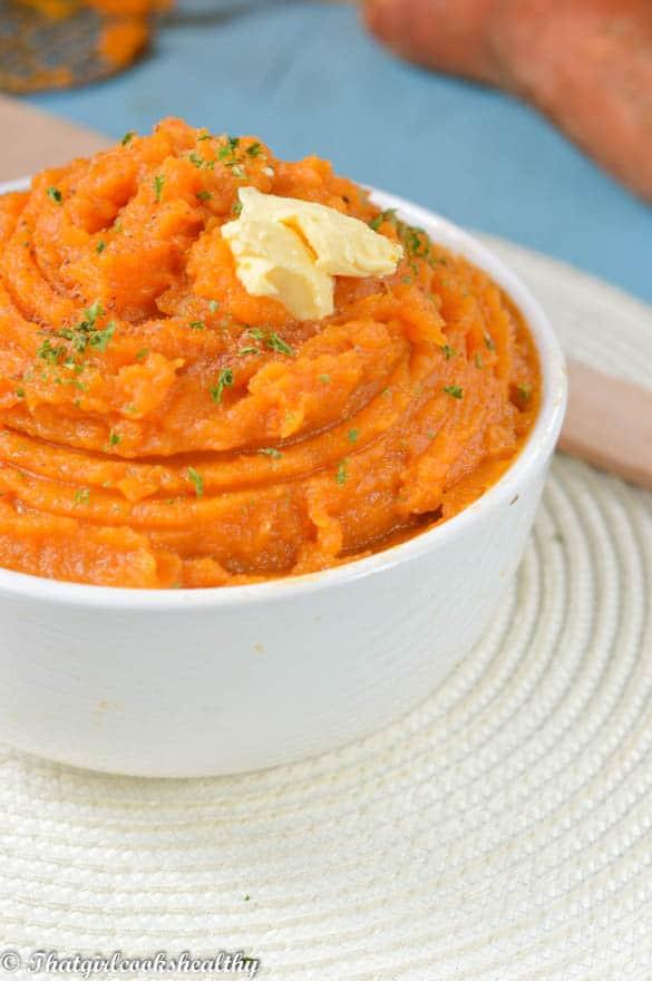 Sweet Potatoes Mashed Healthy  Easy mashed sweet potatoes vegan That Girl Cooks Healthy
