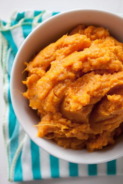 Sweet Potatoes Mashed Healthy  Perfect Mashed Sweet Potatoes
