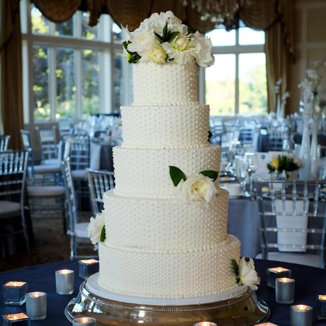 Swiss Dot Wedding Cakes  Pin Swiss Dot Wedding Four Tier Square Buttercream Cake