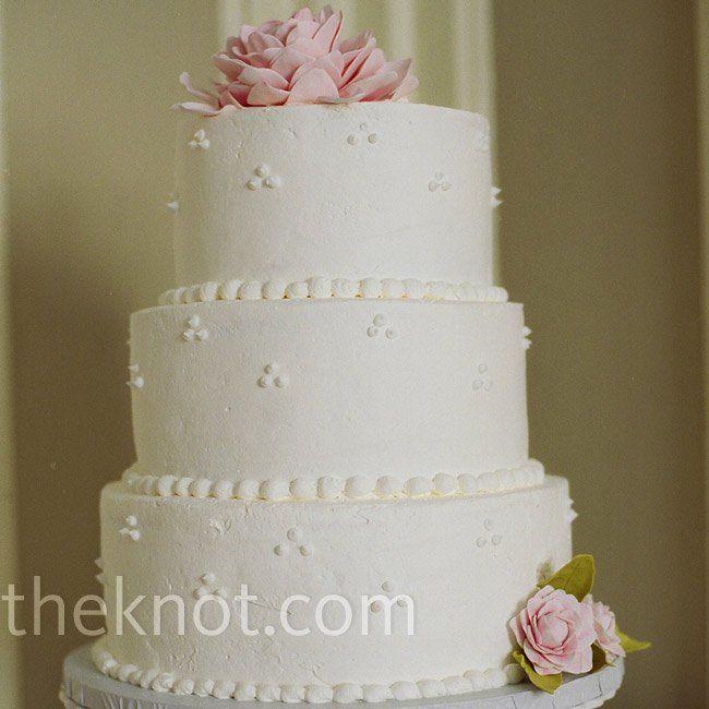 Swiss Dot Wedding Cakes  Swiss Dot Cake