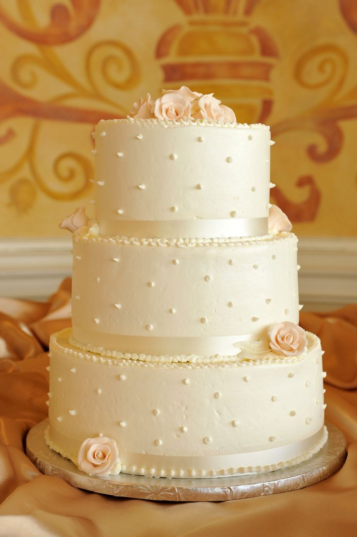 Swiss Dot Wedding Cakes  598 best images about Lace and Dotted Swiss on Pinterest