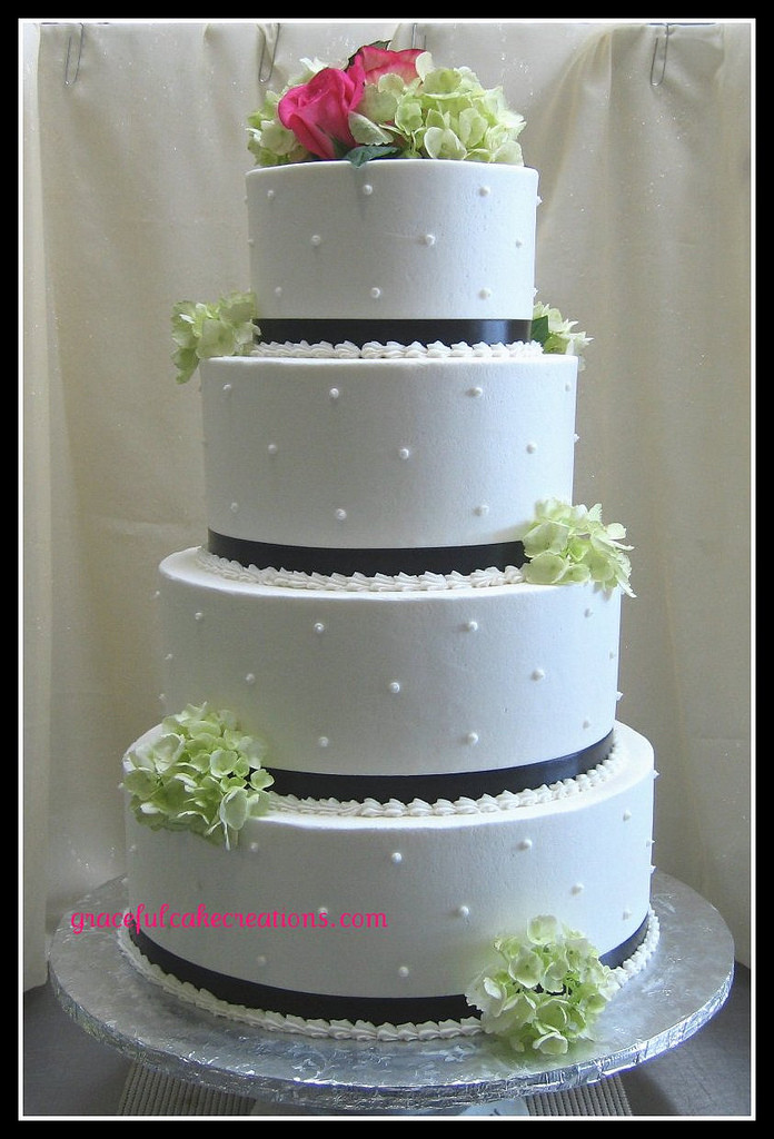 Swiss Dot Wedding Cakes  Wedding Cake with Swiss Dots Grace Tari