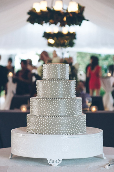 Swiss Dot Wedding Cakes  Wedding Trends Swiss Dots