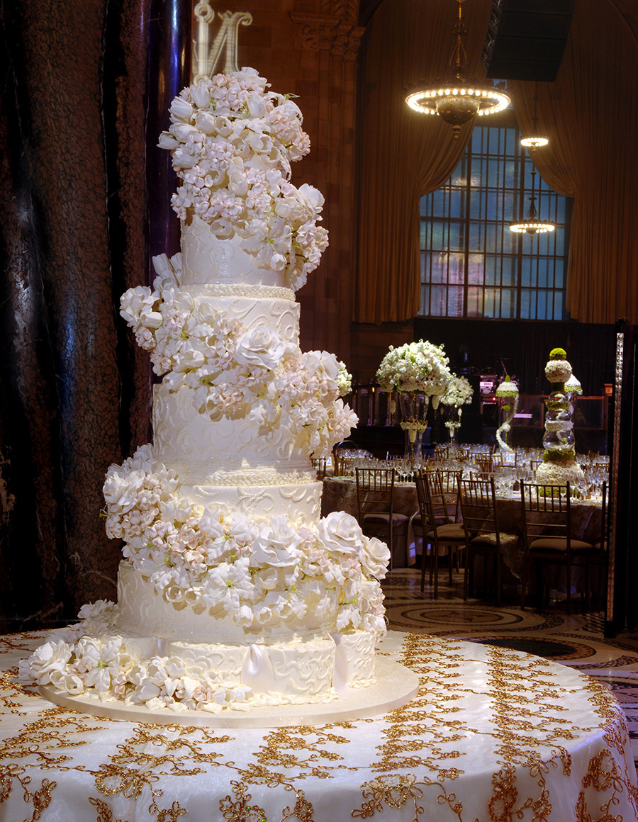 Sylvia Weinstock Wedding Cakes  Sylvia Weinstock Has Created Cakes for the Clintons the