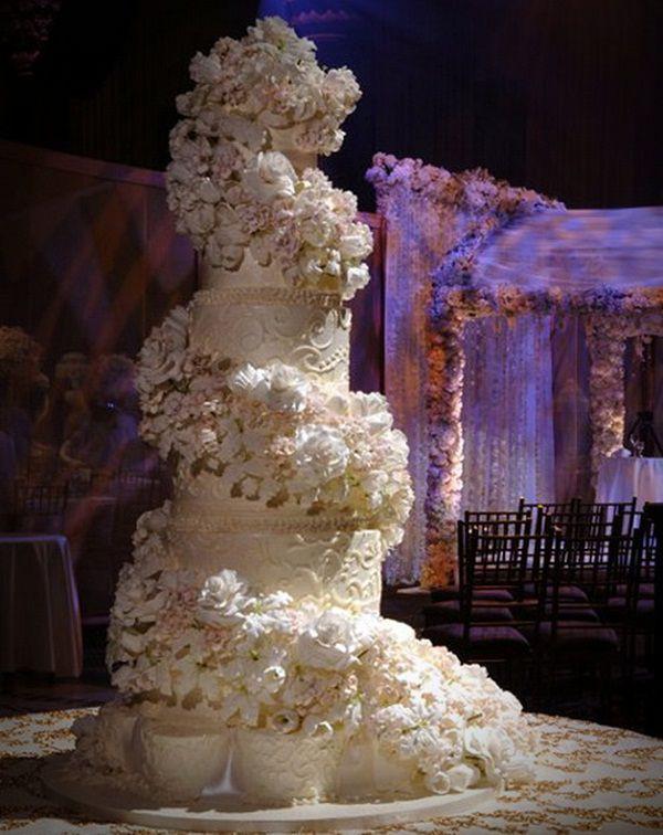 Sylvia Weinstock Wedding Cakes  18 Best Celebrity Wedding Cakes