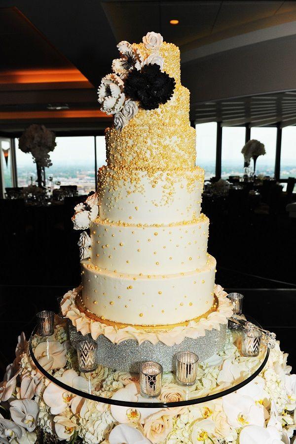 Tall Wedding Cakes  Slam Dunk Wedding Perfection