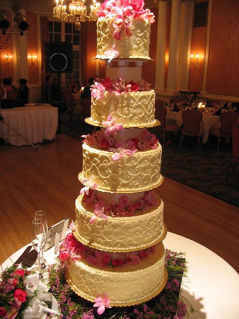 Tall Wedding Cakes  tall wedding cakes