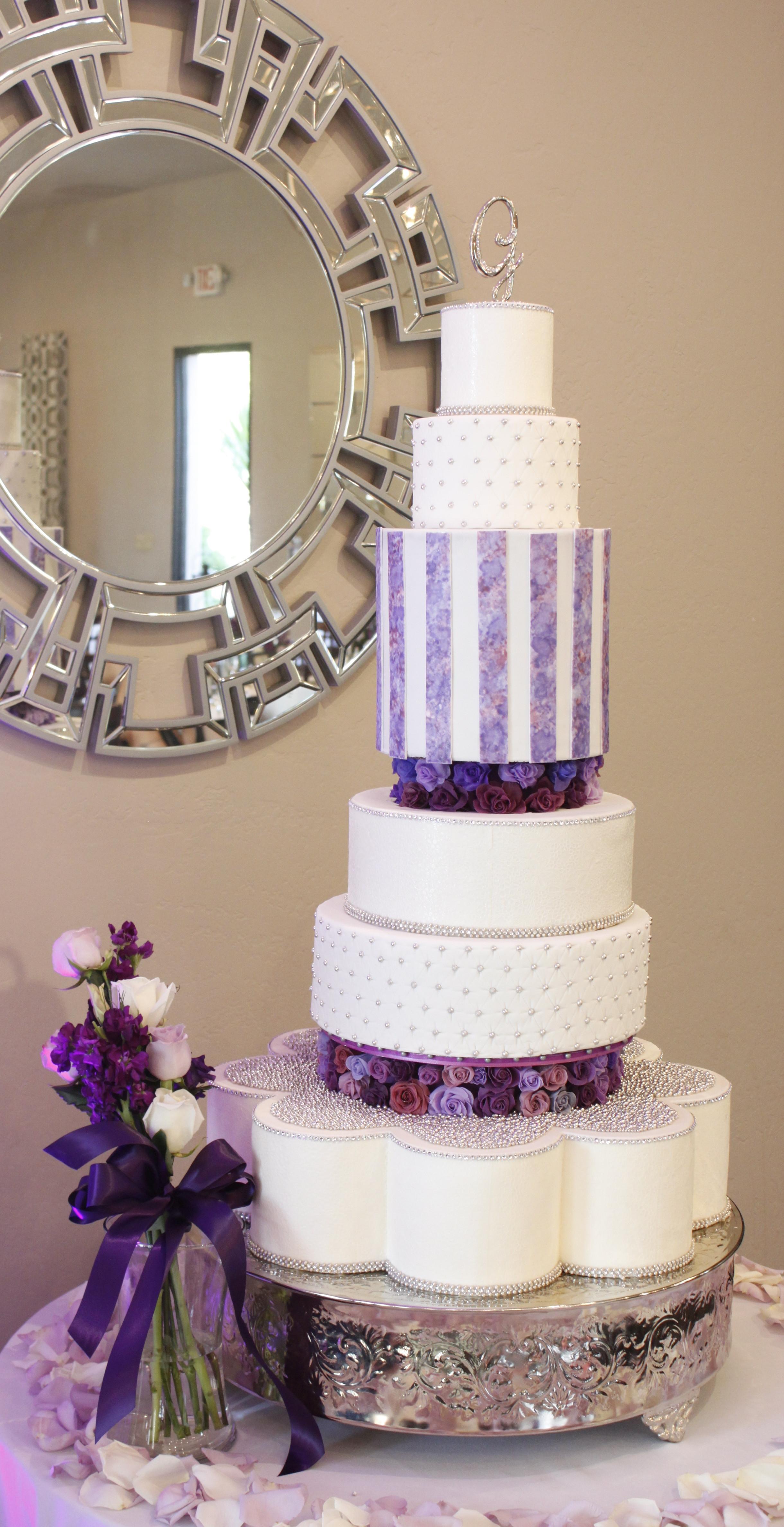 Tall Wedding Cakes  Heavenly Cake Pops