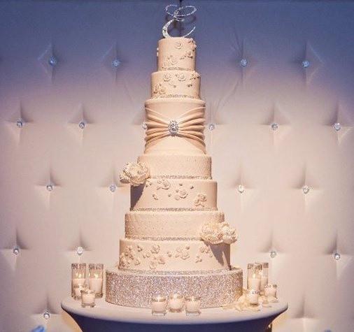 Tall Wedding Cakes  Tall Wedding Cakes Wedding and Bridal Inspiration