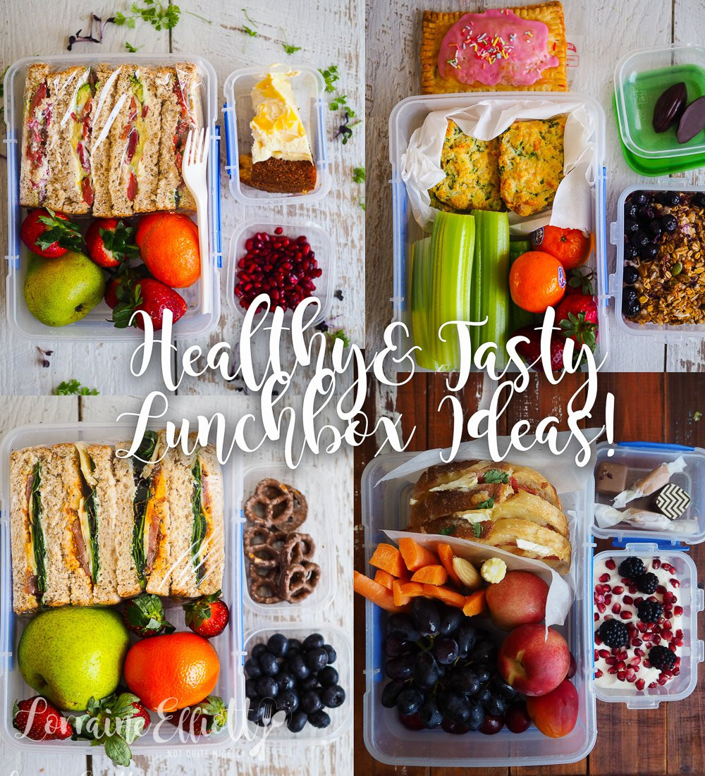 Tasty Healthy Lunches  healthy tasty lunchbox lunches ideas Not Quite Nigella