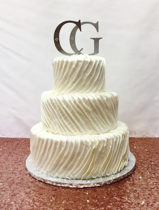 Textured Buttercream Wedding Cakes  The 1 Wedding Cake Bakery in Cape Cod