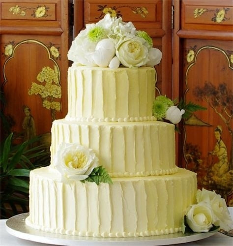 Textured Buttercream Wedding Cakes  Textured buttercream frosting wedding cake Eff your