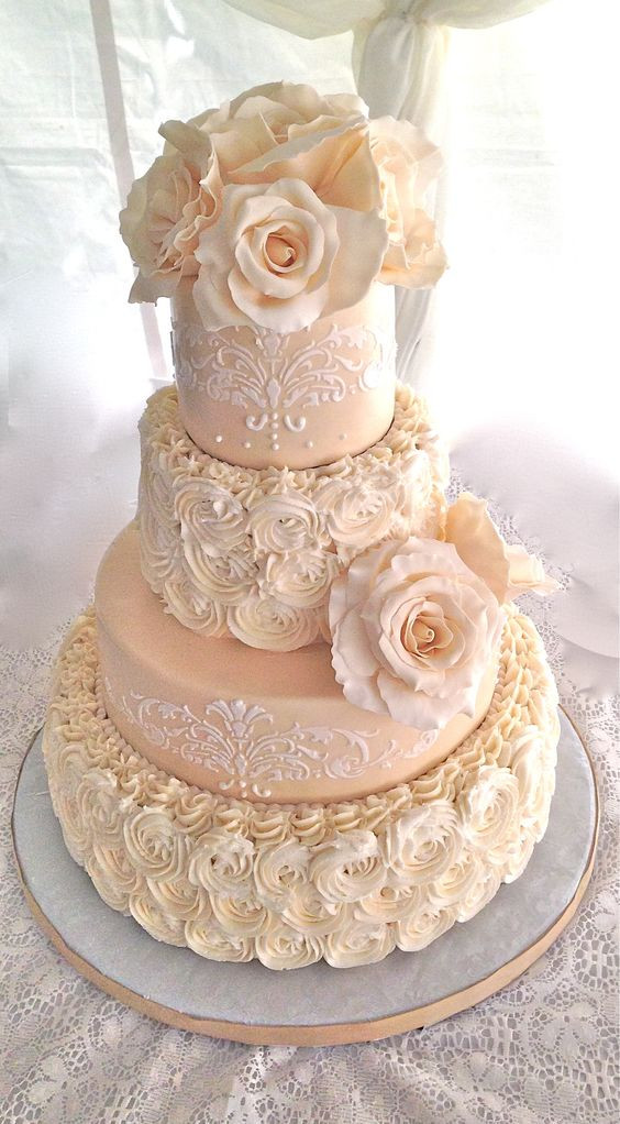 Textured Buttercream Wedding Cakes  textured buttercream wedding cake Google Search