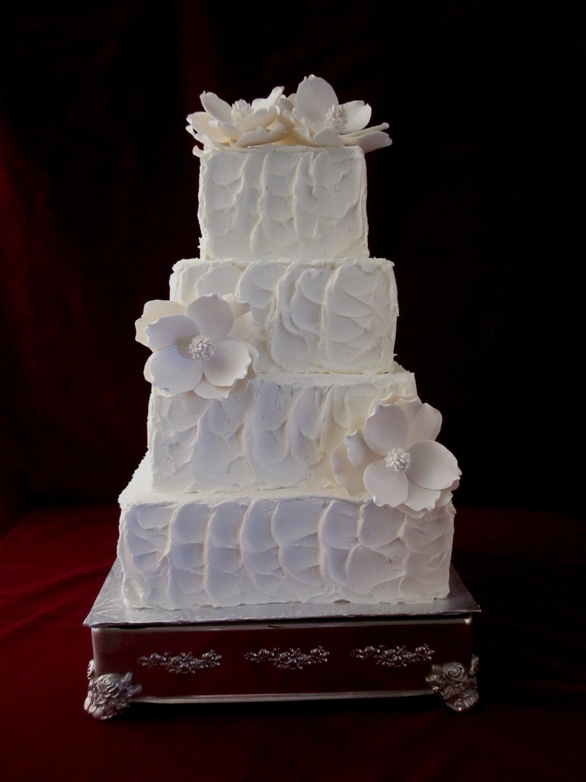 Textured Wedding Cakes  textured
