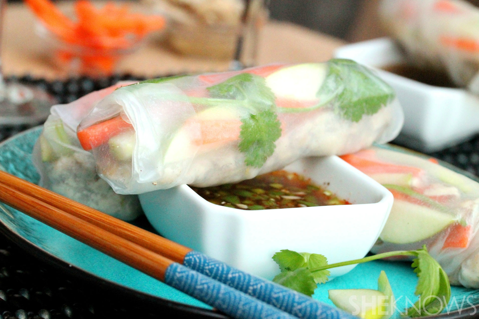 Thai Summer Rolls Recipes  Make Thai summer rolls with your leftover turkey