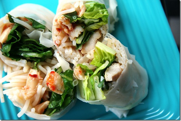 Thai Summer Rolls Recipes  PFB Challenge 2 Fresh Thai Summer Rolls fANNEtastic