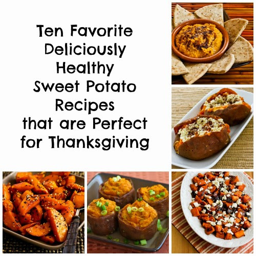 Thanksgiving Sweet Potatoes Recipes Healthy  Ten Favorite Deliciously Healthy Sweet Potato Recipes that