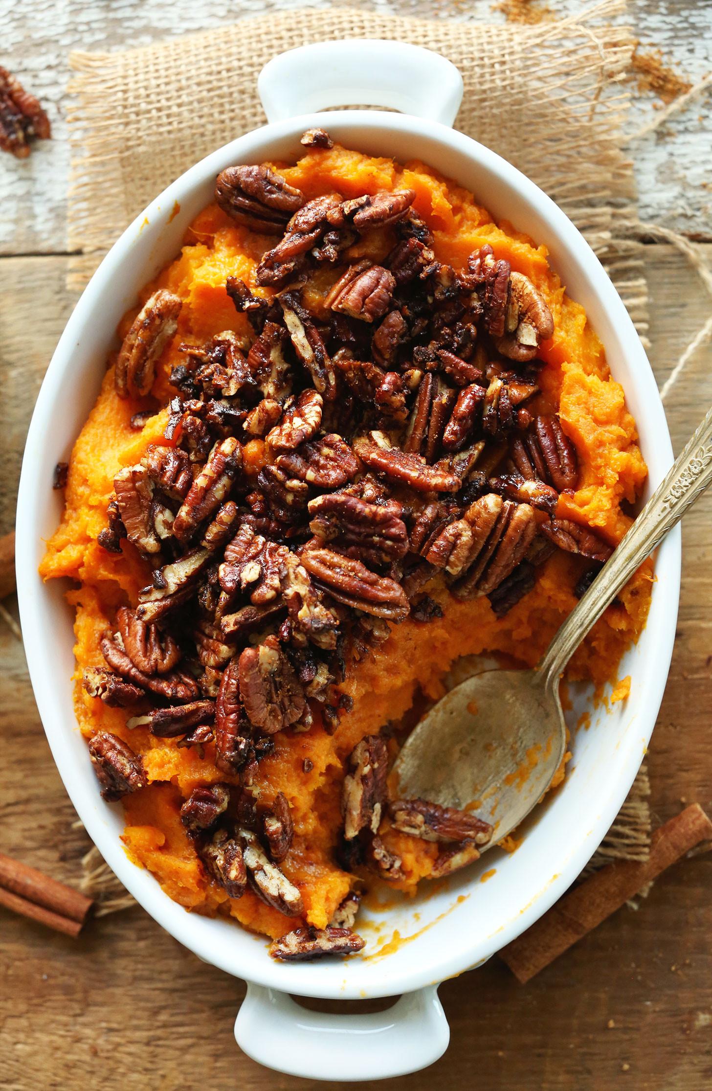 Thanksgiving Sweet Potatoes Recipes Healthy  Vegan Thanksgiving Recipes