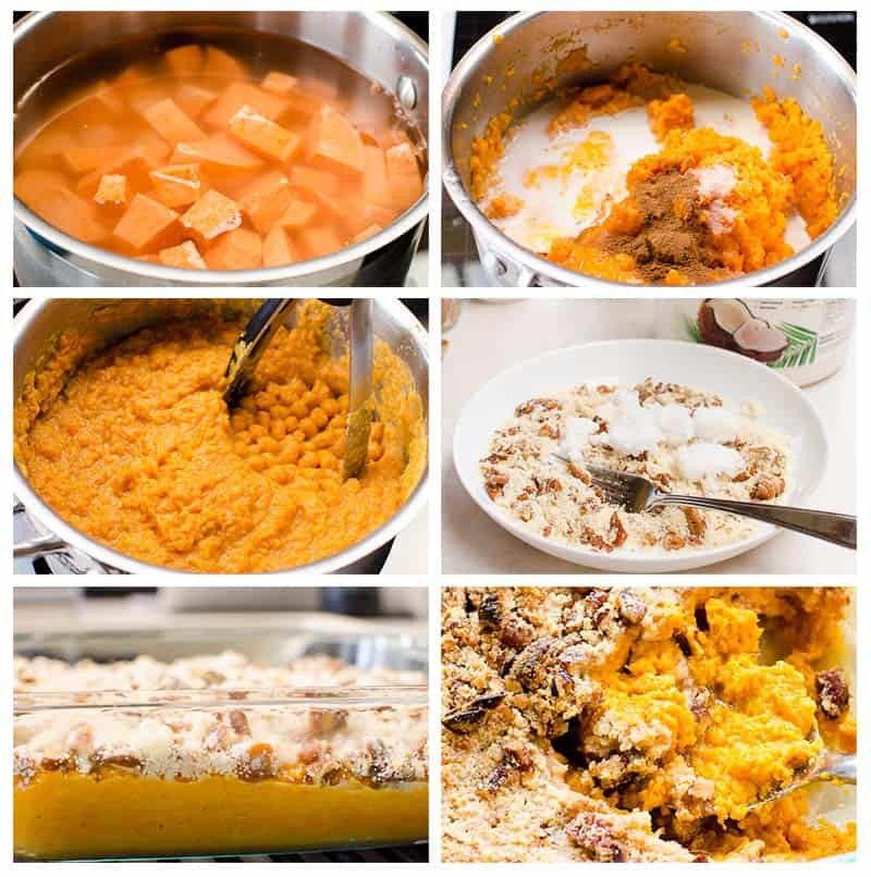 Thanksgiving Sweet Potatoes Recipes Healthy  Healthy Sweet Potato Casserole Recipe iFOODreal