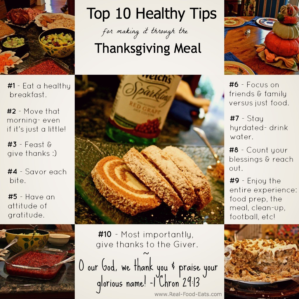 Thanksgiving Tips For Healthy Eating  Katherine Top 10 Thanksgiving Meal Tips
