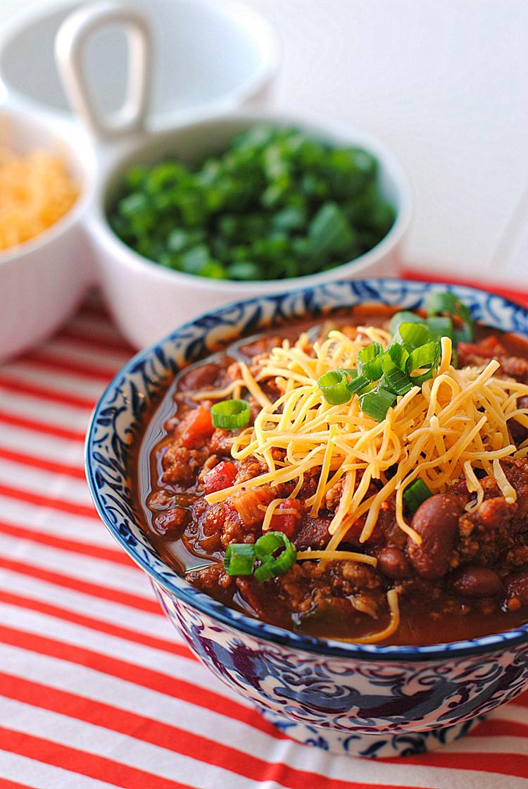 The Best Healthy Turkey Chili  Top 10 Turkey Chili Recipes RecipePorn