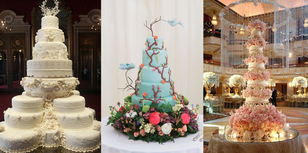 The Best Wedding Cakes  10 Over the Top Wedding Cakes