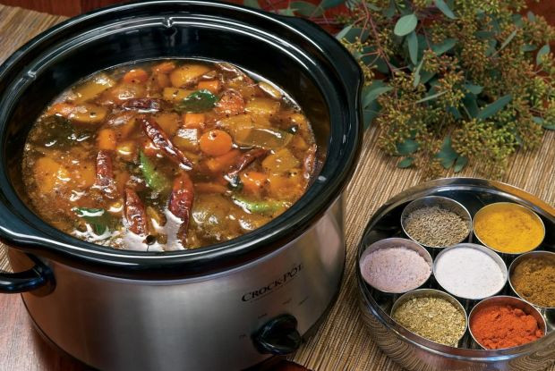 The Indian Slow Cooker: 50 Healthy, Easy, Authentic Recipes  Low and slow The skills you need to create an epic slow