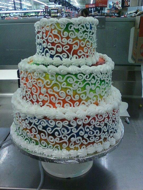 Tie Dye Wedding Cakes  Tie dye wedding cake My creations Pinterest