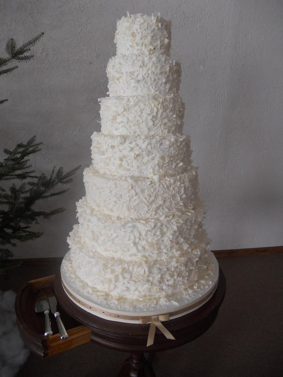 Tiered Wedding Cakes  7 Tiered Wedding Cake CakeCentral