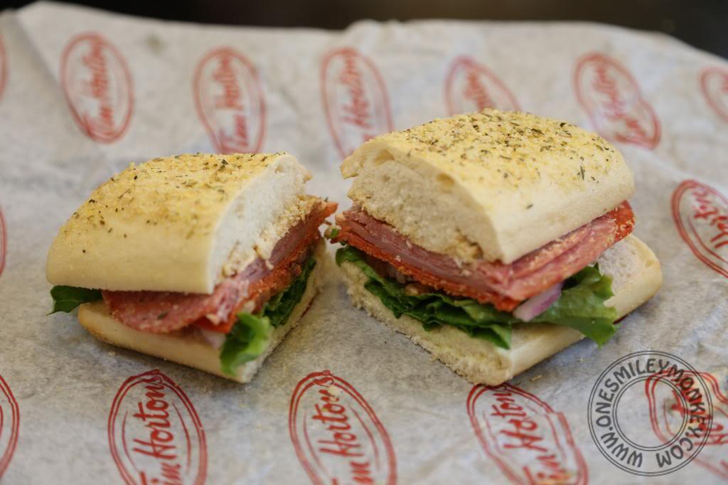 Tim Hortons Healthy Breakfast  Tim Hortons Extreme Italian Sandwich Get a FREE $10 Tim