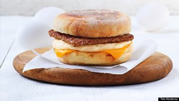 Tim Hortons Healthy Breakfast  Tim Hortons Healthy Options Include Coffee Muffins And