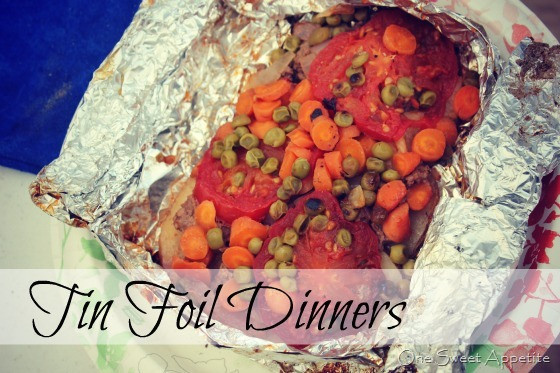 Tin Foil Dinners Camping  Camping Tin Foil Dinners e Sweet Appetite