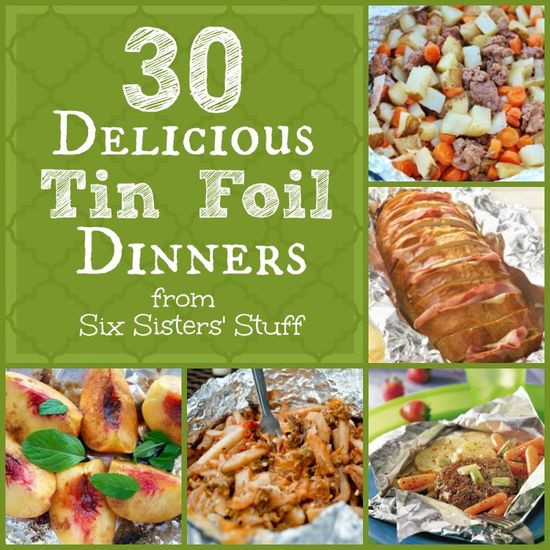 Tin Foil Dinners Camping  My Awesome Cooking Guides 30 Delicious Tin Foil Dinners