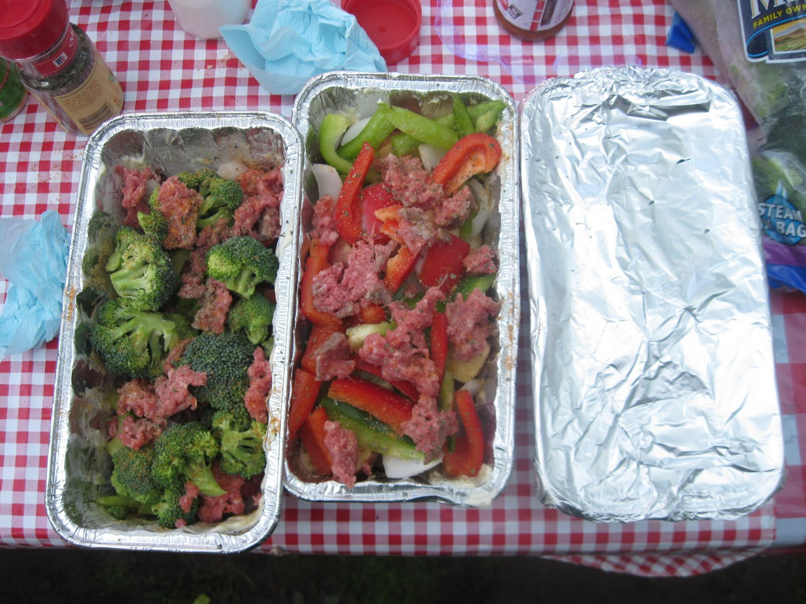 Tin Foil Dinners Camping  The Family Gus Camping dinners Foil Dinners