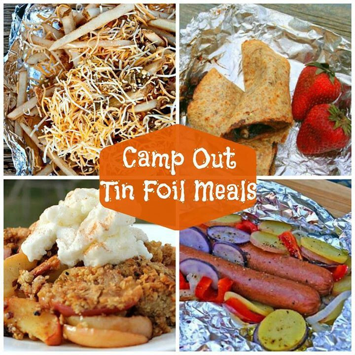 Tin Foil Dinners Camping  335 best images about Backpacking Food Camping Food