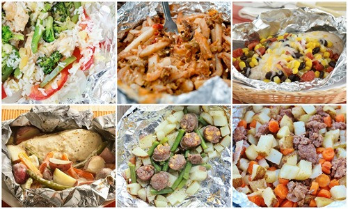 Tin Foil Dinners For Camping  30 Camping Tin Foil Dinners e Sweet Appetite