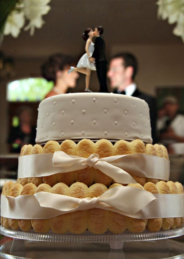 Tiramisu Wedding Cakes  Tiramisu wedding cake by Frazier cake co It was