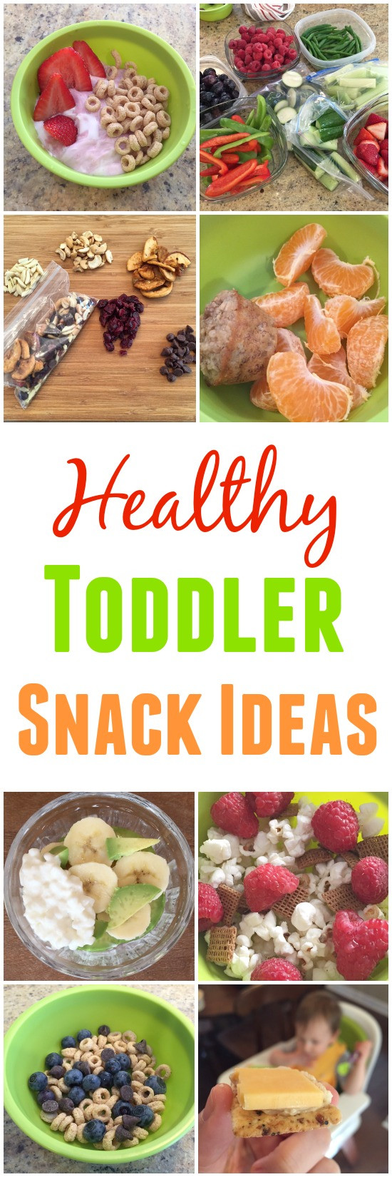 Toddlers Healthy Snacks  Healthy Toddler Snacks