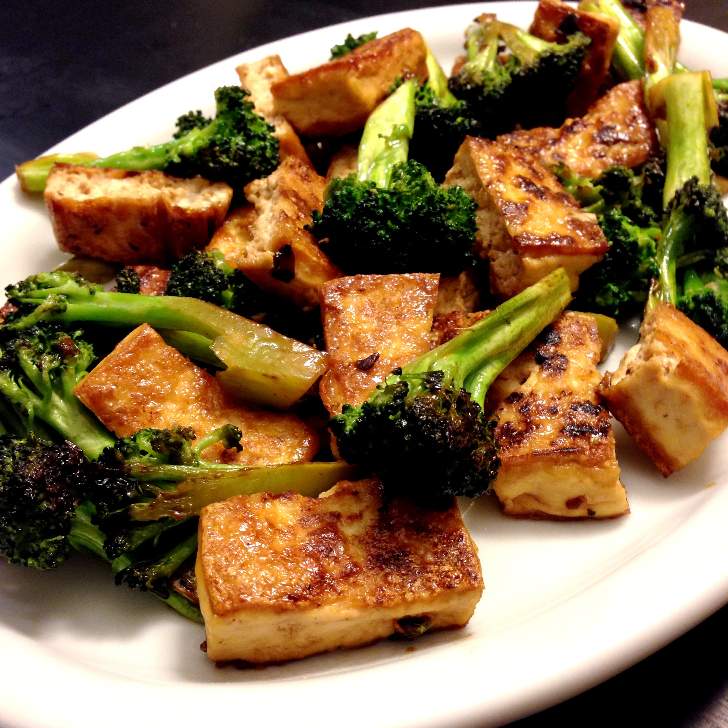Tofu Recipes Healthy  Tofu Broccoli Stir fry — My Healthy Dish