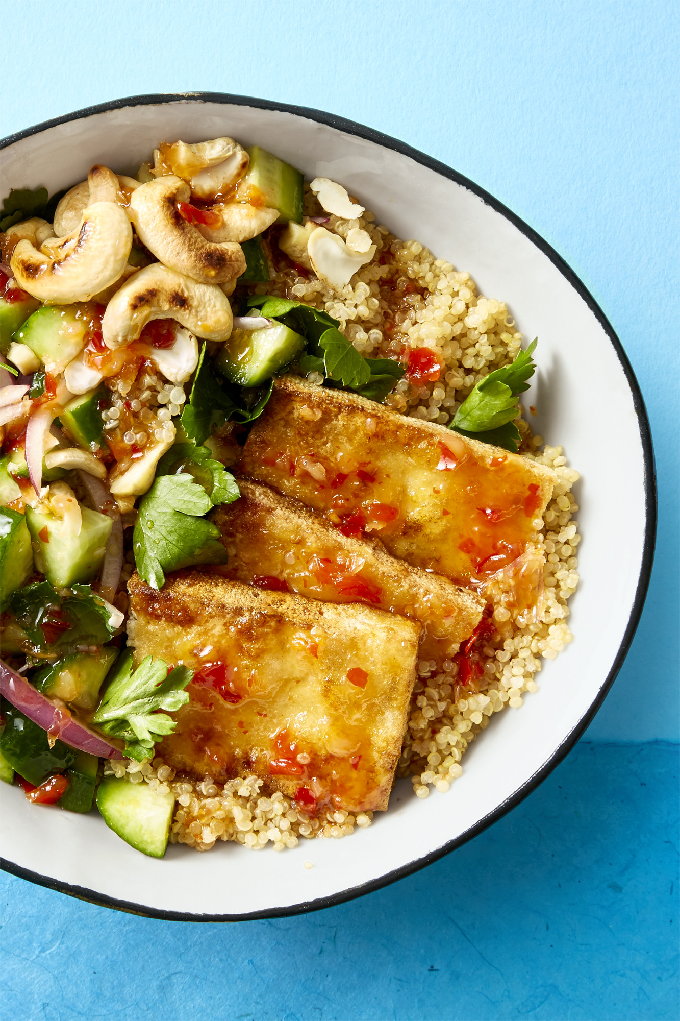 Tofu Recipes Healthy  Best Crispy Tofu Bowl Recipe How to Make Crispy Tofu Bowl