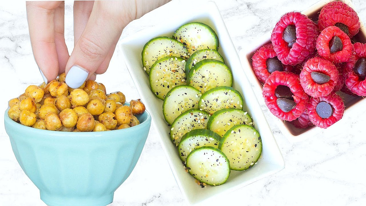 Top 10 Healthy Snacks  10 HEALTHY SNACKS EVERYONE NEEDS TO KNOW EASY AND QUICK