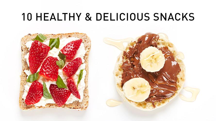 Top 10 Healthy Snacks  Top 10 Healthy Snacks Easy Recipes Bite Me More
