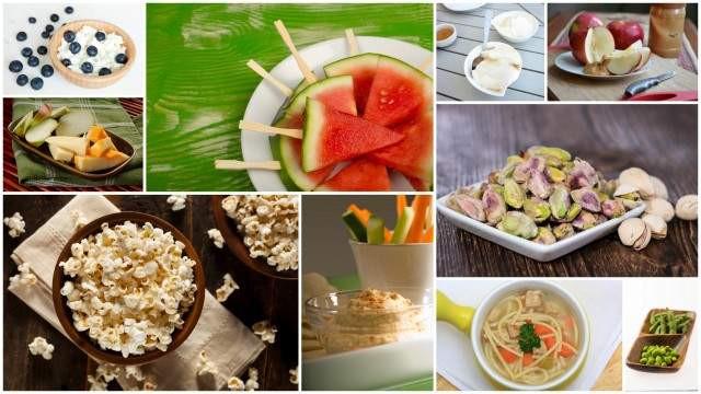 Top 10 Healthy Snacks  Top 10 Best & Most Filling 100 Calorie Healthy Snacks