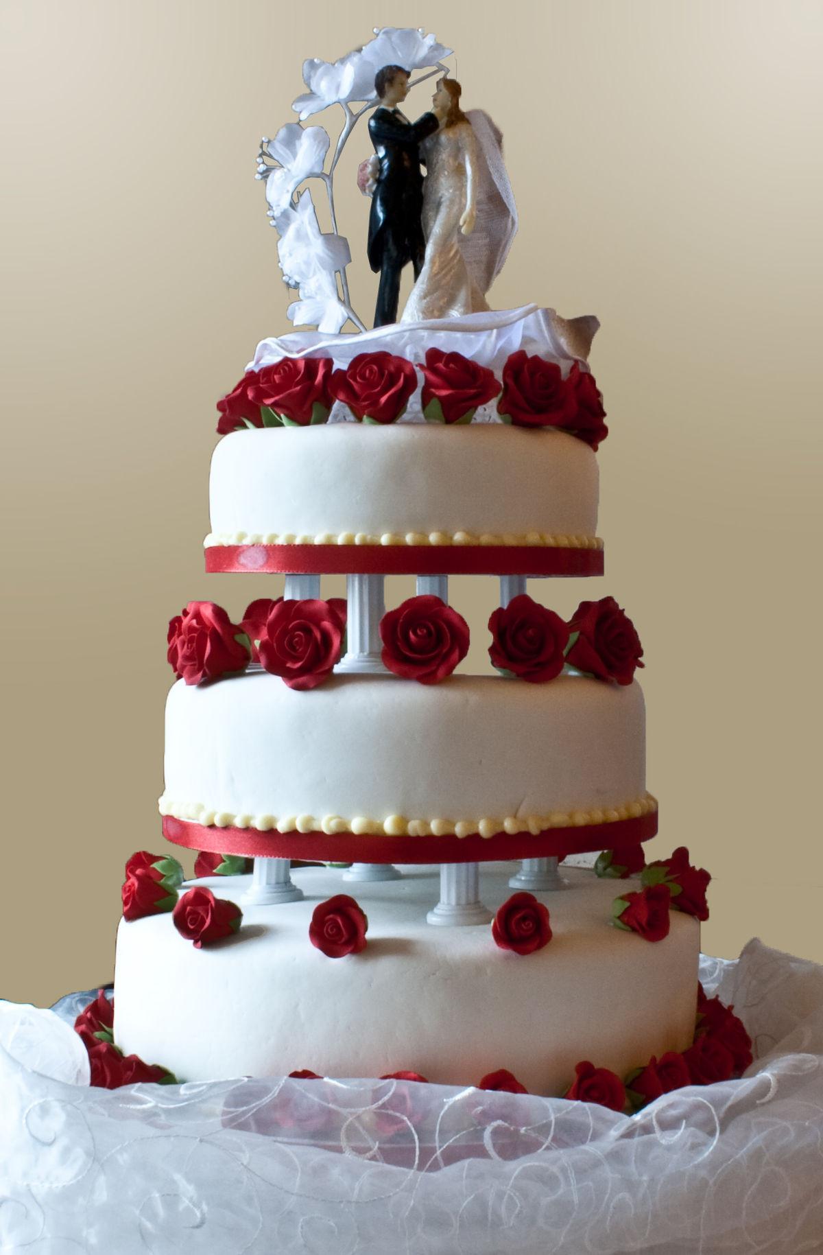Top Of Wedding Cakes  Wedding cake