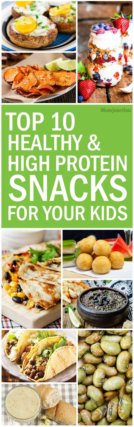 Top Ten Healthy Snacks  Top 10 Healthy And High Protein Snacks For Kids