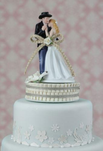 Toppers For Wedding Cakes  Country Wedding Cake Toppers