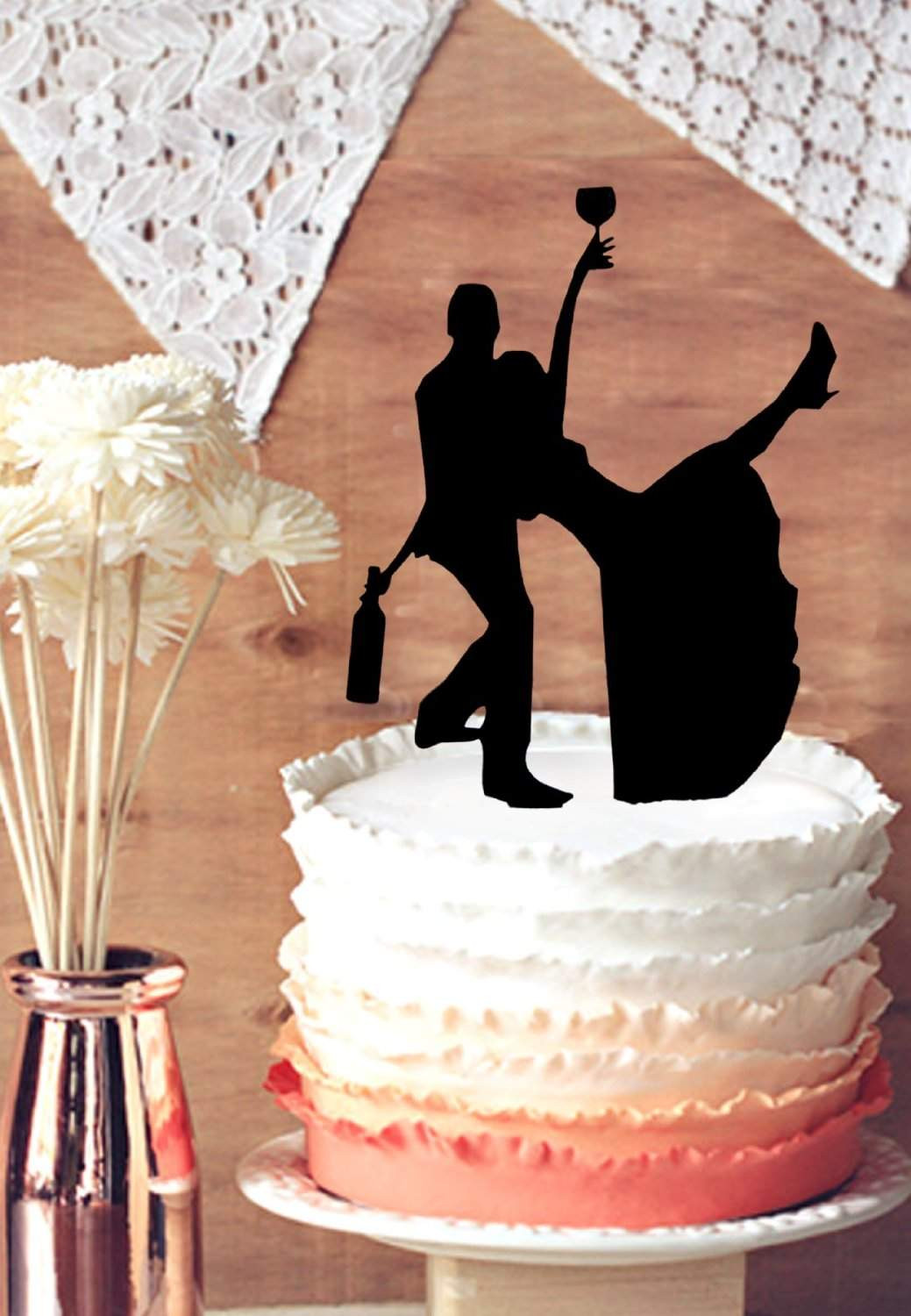 Toppers For Wedding Cakes  11 Funny Wedding Toppers for Your Cake 2018