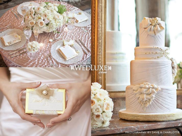 Toronto Wedding Cakes  Toronto Concept Shoot Featured on WedLuxe Toronto